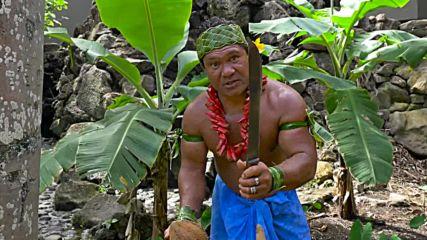 Как белят кокос в Самоа