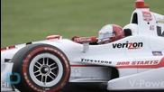 Helio Castroneves Walks Away From Terrifying IndyCar Crash