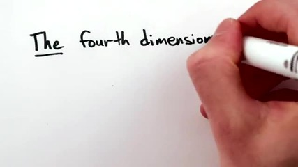 There is no fourth dimension
