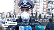 Пътните полицаи заловиха водач с 2,58 промила зад волана