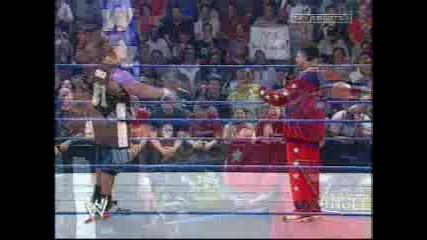 WWE - 2003 Smackdown - Kurt Angle vs John Cena - Rap Challenge