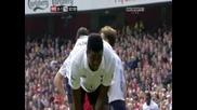 Арсенал 5:2 Тотнъм,дузпа и червен картон