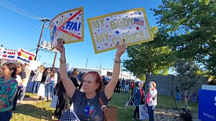 USA: Southwest Airlines employees protest vaccine mandate in Dallas