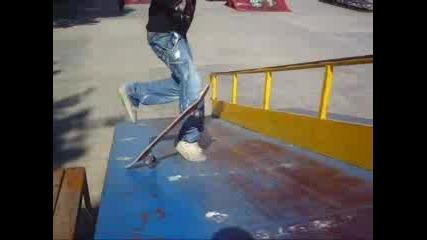 Скейт Мнт - 2 добри трикчета ;)
