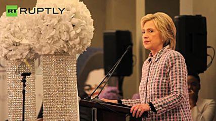Clinton Slams Trump at Trayvon Martin Foundation's Mothers Conference