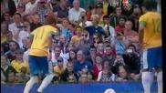 Неймар вкарва невроятен гол срещу Беларус