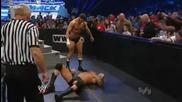 Snapmare + Knee Drop - Cody Rhodes