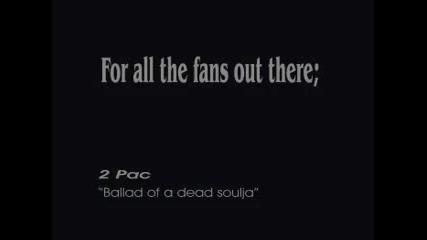 • 2pac• Чуйте Баладата на Мъртвия Войник.. !! •официално видеo•