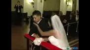 Младоженец осъзнава какво го очаква пред олтара