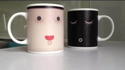 Спящи чаши, които се пробуждат от топла напитка