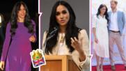 Преобразената Меган: нова прическа и нова вдъхновяваща реч