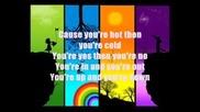Katty Perry - Hot N Cold Lyrics ;}