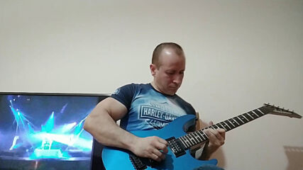 Oki Guitar Player-Too Late For Love (Def Leppard cover)