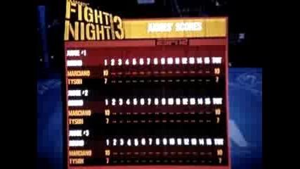 Rocky Marciano Vs Mike Tyson