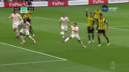 """Лукаку даде аванс на """"Юнайтед"""" над Уотфорд"""