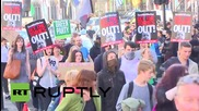 UK: Londoners decry 'Tory scum' after Conservative election victory
