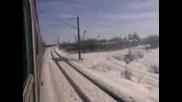 Влак закъсал между Левски и на 19.02.2010