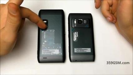 Nokia E7 - 00 video review - Акценти и сравнение с Nokia N8
