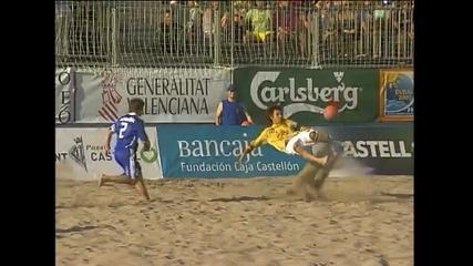 Best 2009 beach soccer goals