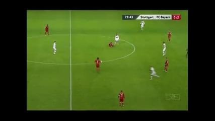 """""""Байерн"""" вече води с 11 точки след 2:0 над """"Щутгарт"""""""