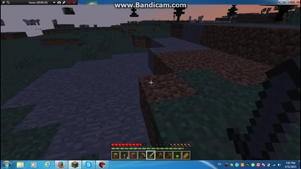 Minecraft 1.8 Survival ep.1 skelet me ubi