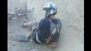 Mountain Bike - Кофти Пребиване След Скок