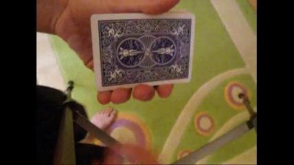 Фокуси с карти:venus Trap