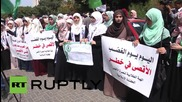 State of Palestine: Hundreds take to the streets after IDF storm Al-Aqsa Mosque