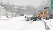 Eто как се чисти снега в Сащ