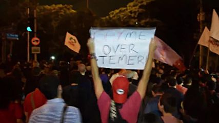 Brazil: Thousand continue protests against Temer in Sao Paulo