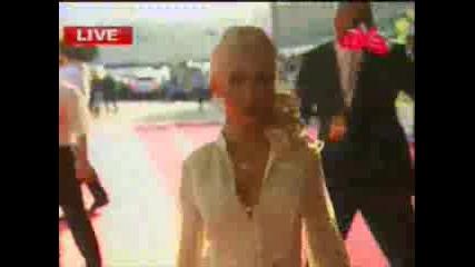 Christina Aguilera - Red Carpet Muz Tv Awa