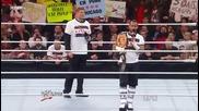 Wwe Raw 26.12.11 John Laurinaitis set a Gauntlet Match for Wwe Champion Cm Punk