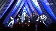 Infinite - The Chaser ~ Inkigayo (20.05.2012)
