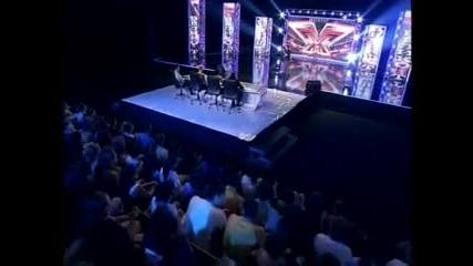 Този е пълен инвалид - X Factor България 16.09.2011