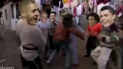 Смях! Реал Мадрид след контузията на Меси.