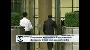Годишната инфлация в България през февруари е сред най-високите в ЕС