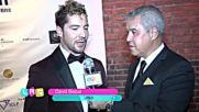 David Bisbal Entrevista New York Summit 2018