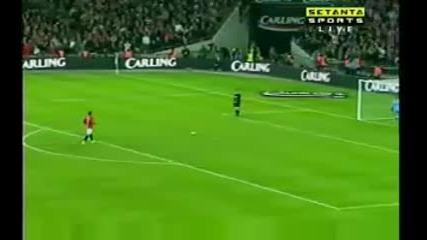 Манчестър Юнайтед Vs. Тотнъм Карлинг Към Дузпи 2009