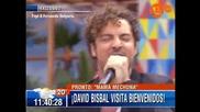 David Bisbal Mama Ojos Magicos / En Vivo Por Primera Vez 14/02/2014 Chile