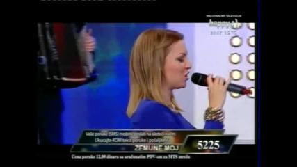 Ivana Selakov - Daleko si - (Live) - Jedna zelja jedna pesma - (TV Happy 2012)
