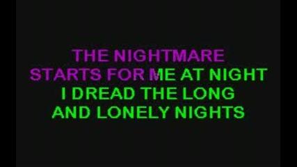 Ozzy Osbourne Gets me through - karaoke
