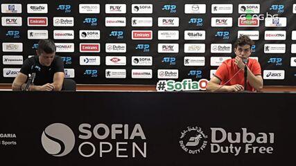 Лазаров и Андреев след поражението на двойки на Sofia Open 2021