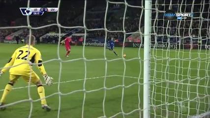 Лестър - Ливърпул 0:0 /първо полувреме/