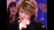 Bon Jovi - Bed Of Roses (on Spanish Tv)