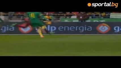 Впечатляващо отиграване на Португалия - Камерун
