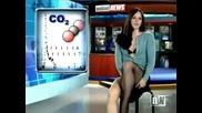 Голи новини с Виктория Синклеър - Victoria Sinclair in black stockings 2