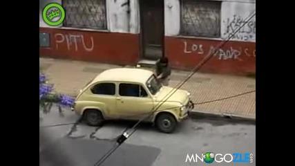 Как се краде кола безшумно!