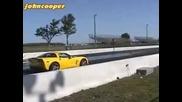 Mercedes Sl65 Amg vs Corvette Z06