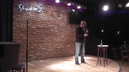 Батман и Жокера стендъп комедия Иван Кирков