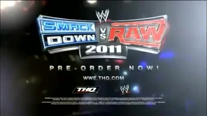 Wwe Smackdown vs Raw 2011 Official Promo